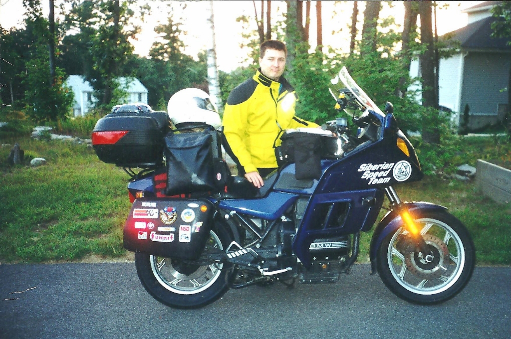 Just prior to leaving for my very first Long Distance Rally, the Teamstrange  Buttlite IIa 7 day, 7,000 mile event.