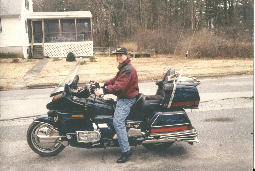 1994 GL1500, and no, I did not add the ring of fire myself!